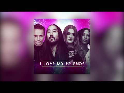 Steve Aoki & Alle Farben & Icona Pop - I Love My Friends (And My Friends Love Me) [Visualizer] Ultra