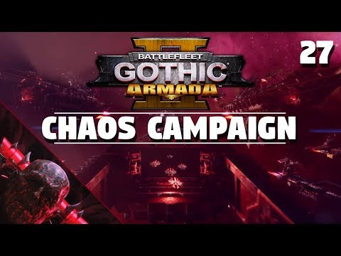 Battlefleet Gothic: Armada 2 | Chaos Campaign #27 - Hard/No Slow-mo | The Road to Cadia