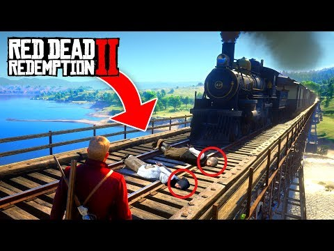 RED DEAD REDEMPTION 2 FAILS & FUNNY MOMENTS! #1 онлайн видео