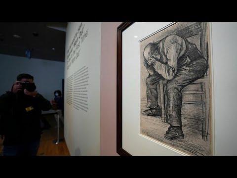 العرب اليوم - رسم لفينسنت فان خوخ عمره 139 سنة يرى النور للمرة الأولى