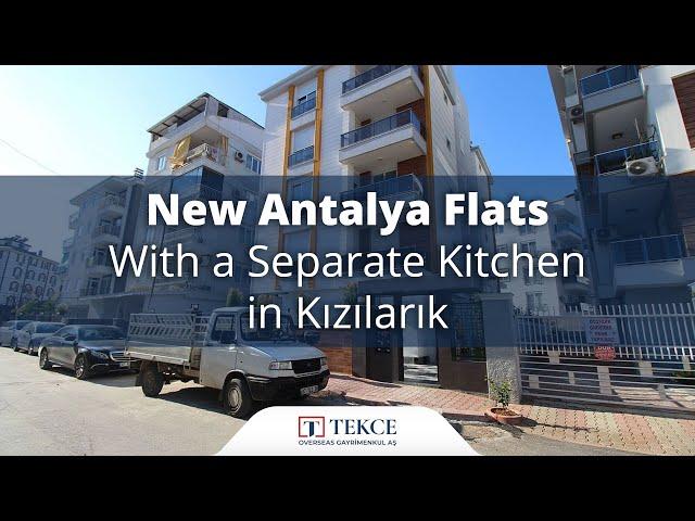 Brand New Antalya Flats Close to Social Amenities