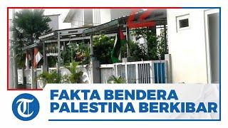 Viral Foto Bendera Palestina Berkibar di Sejumlah Daerah, Berikut Faktanya