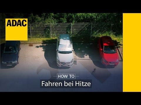 ADAC How To: Fahren bei Hitze, Auto kühl bekommen | Folge 1