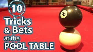 TOP 10 Pool TRICK Shots and PRANKS - PART 2!!