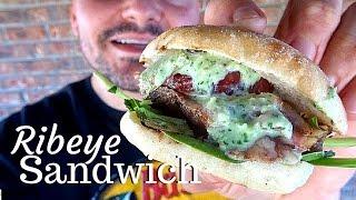Sandwich de Ribeye | La Capital - Video Youtube