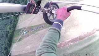 preview picture of video 'Pilotenklaus Flug mit Ul juli 2013 bei Kronau 1'