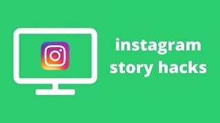 Instagram Story Hacks 2021 - Use Engaging Games And Quiz In IG Stories