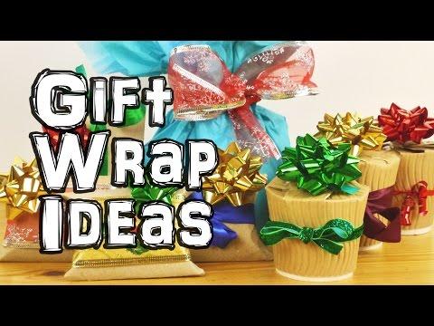 Netradiční způsoby balení dárků - Udělej si sám