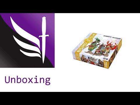 Dynasty Invasion: Rising Sun - Kickstarter Unboxing