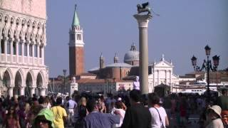 preview picture of video 'Panorama (Piazza San Marco, Venice, Italy, 2013-07-19)'