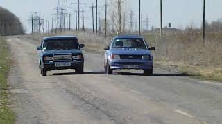Ford Escort 86 Mk3 VS Lada 7