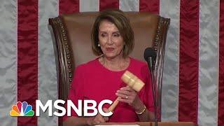 Democrats Paint Stark Contrast With Outgoing Republicans | Rachel Maddow | MSNBC