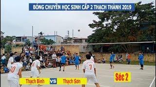 Bóng chuyền học sinh THCS Thạch Thành | Thạch Bình vs Thạch Sơn