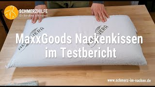 MaxxGoods Nackenkissen im Test