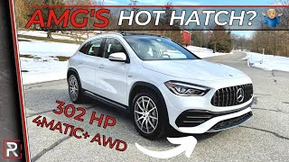 [Redline] The 2021 Mercedes-AMG GLA 35 Is Really A Hot Hatch for Grownups