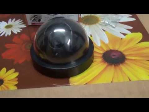 Realistic Look Dummy Security Fack CCTV Camera