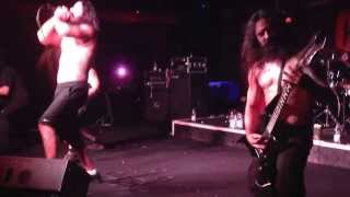 Disgorge (USA) Exhuming the disemboweled, live at the colony club, Brescia, Italy