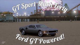GT Sport Mach 40 @ Willow Springs Gameplay!