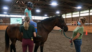 High Hopes Theraputic Riding's VetKids Camp introduces the children of veterans, active military members and first responders to horseback riding and community
