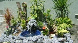 Como fazer um lago de jardim