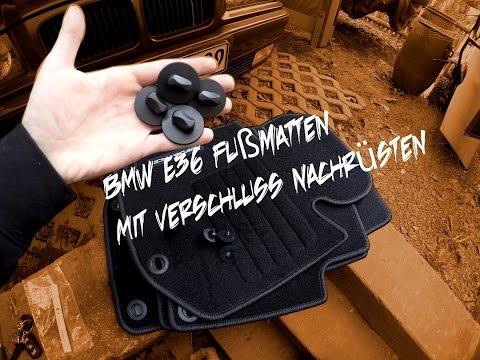 BMW E36 Fußmatten Mit Verschluss Nachrüsten