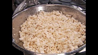 Alton Brown Makes Perfect Popcorn | Food Network