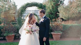 A Tuesday Elopement At A Garden In Virginia | Martha Stewart Weddings