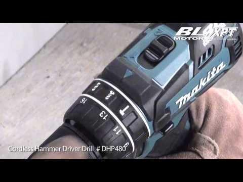 Taladro atornillador y taladro combinado a batería de 4.0 Ah.