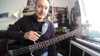 """Come suonare """"A Me Me Piace O Blues"""" di Pino Daniele (Lez. 132) - Lezioni di Basso Elettrico"""