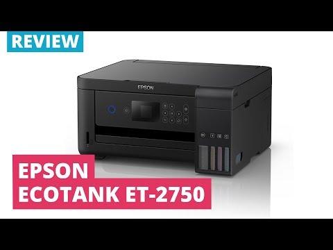 Printerland Review: Epson EcoTank ET 2750 A4 Colour Multifunction Inkjet Printer