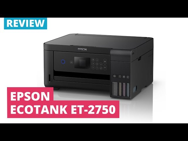 Epson EcoTank ET-2750 A4 Colour Multifunction Inkjet Printer