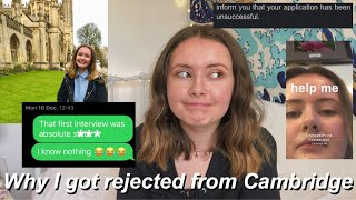 Why I Got Rejected From Cambridge HoNeSt Reflection, Feedback & Tips For Applicants