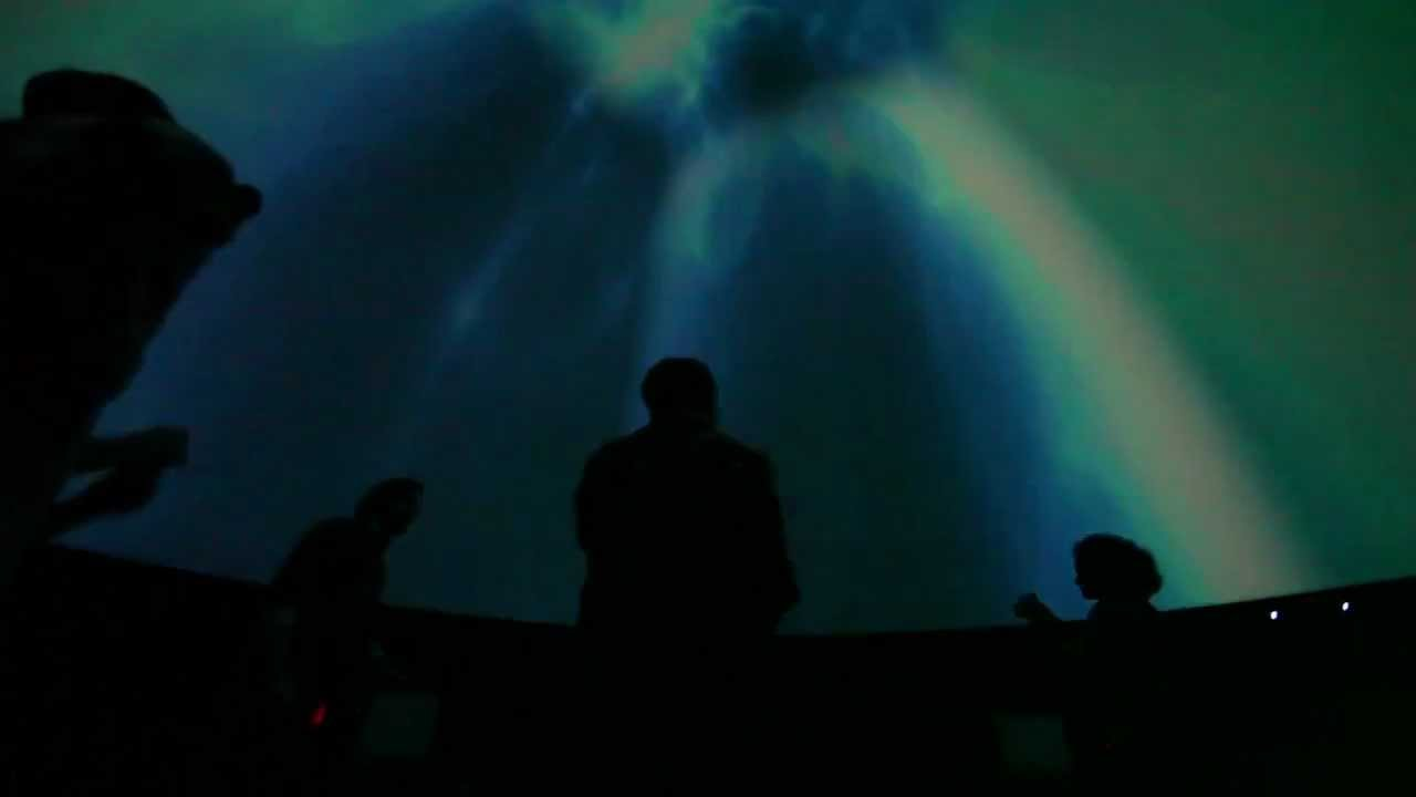 This Is What A Video Game Played In A Planetarium Looks Like
