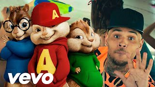 Fine By Me - Chris Brown | Alvin and the Chipmunks 2015