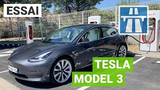 Essai TESLA Model 3 : 1400km de roadtrip