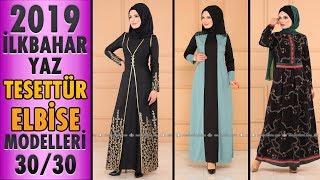 #Modaselvim İlkbahar Yaz Tesettür Elbise Modelleri 2019 - 30/30 | #Hijab #Dress | #tesettür #elbise