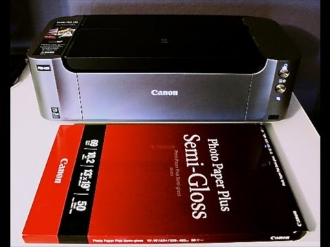 Canon Pixma Pro-100 Inkjet Photo Printer Review