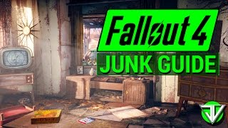 FALLOUT 4: The ULTIMATE Junk Collecting Guide! (What You Should Pick Up in the Wasteland)