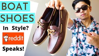 How Do You Style Boat Shoes In 2020? Reddit Gives Compelling Advice! | Fashion Tip Friday Ep 3