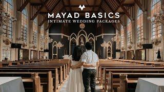 #LoveIsBasic By Mayad Studios | #MayadBasics Intimate Wedding Package