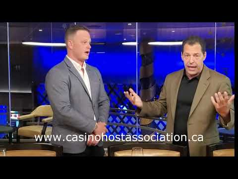 Nick Ippolito with the Canadian Casino Host Asscociation