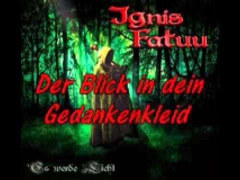 Ignis Fatuu Einsam lyrics
