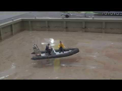 Schlauchboot mit proportionaler Steuerung 1:87