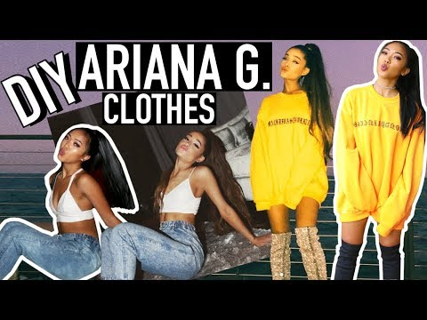 *NO-SEW* DIY ARIANA GRANDE INSTAGRAM CLOTHES! | Nava Rose