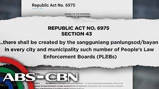 Bandila: Online database laban sa mga abusadong pulis, inilunsad