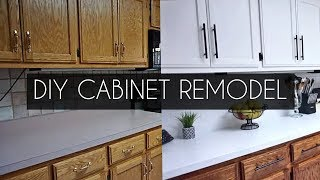 DIY VIDEO: Painting Cabinets WITHOUT Sanding