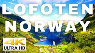 Lofoten 4K - Lofoten Islands Norway 4K | Norway Drone Breathtaking | Cinematic FPV Drone Footage
