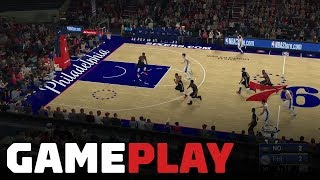 NBA 2K19: Pelicans vs. 76ers Gameplay (FULL QUARTER OF XBOX ONE X IN 4K)