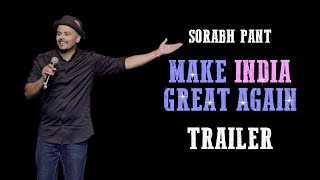 Make India Great Again: Teaser | Aadhar Card | Standup Comedy by Sorabh Pant | #MakeIndiaGreatAgain