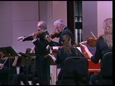 Dmitry Sitkovetsky & Pinchas Zukerman – Bach Double Violin Concerto in D minor, Mvt.1